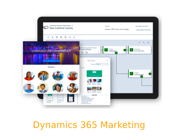 We would love to schedule time with you to showcase Dynamics 365 connected marketing processes