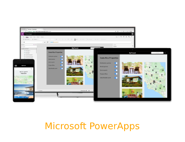 We help you to build and implement solutions for web and mobile with PowerApps.​