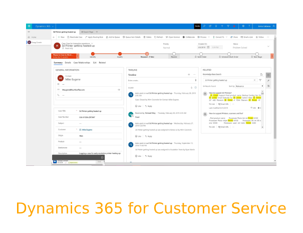 With our assistance, Dynamics 365 for Customer Service can put an end to the most acute customer service challenges.